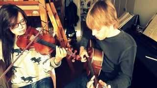 Blackbird [Beatles]- violin and guitar cover