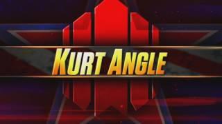 Vídeo de entrada de Kurt Angle en WWE