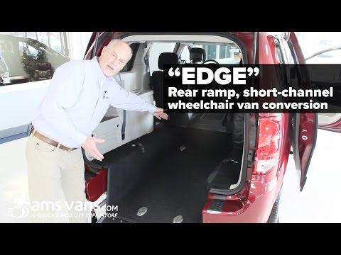 "Rear Entry Wheelchair Van Quick-look: Short Channel ""Edge"" Conversion | AMS Vans"