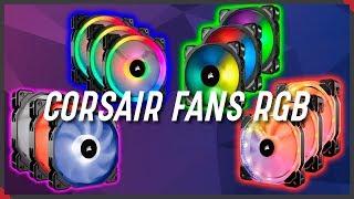 CORSAIR Ventiladores RGB | La GUIA DEFINITIVA -  LL120 ML120 HD120 y SP120