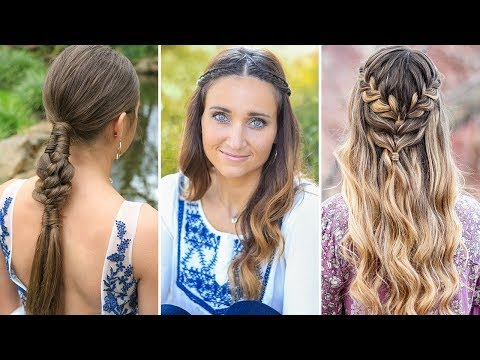 3 Easy Prom Hairstyles | DIY Hairstyles Compilation 2020