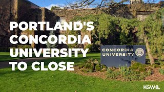 Portland's Concordia University to close