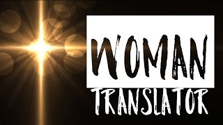 Woman Translator Commercial