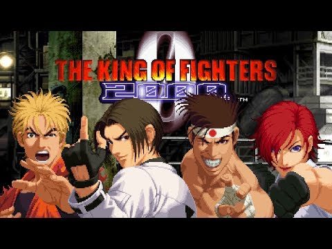KOF 2000 Longplay - Kyo, Ryo, Joe, Vanessa (NORMAL)