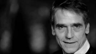 Jeremy Irons:  The Tragedy of Work