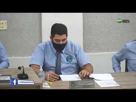 Vídeo na íntegra da Sessão da Câmara Municipal de Goioerê desta segunda-feira, 26
