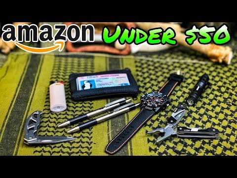 Amazon   Complete Budget EDC under $50   Every Day Carry