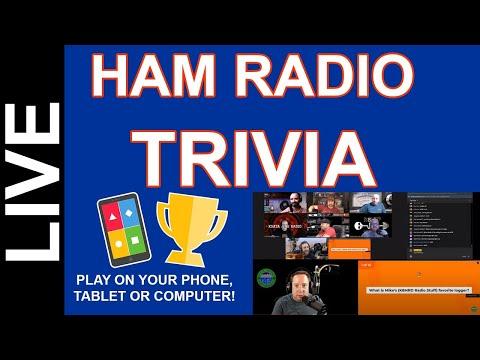Ham Radio Trivia Live - Feb 19th 2021 8pm CST Come Play!