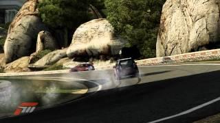 Forza 4 - Two cars flip in succession, Camino Viejo