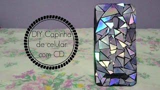 DIY Capinha de celular com CD