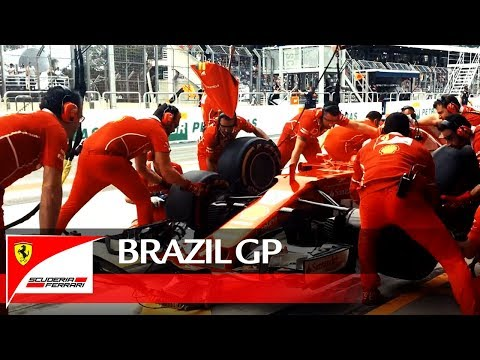 Brazil Grand Prix - Behind the scenes