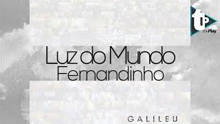 Luz do mundo - Fernandinho (Typography)