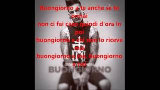 Gionny Scandal Buongiorno Instrumental + Lyrics