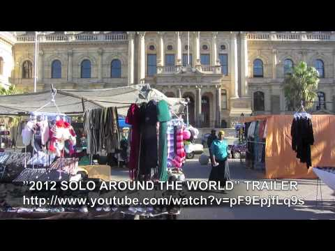 PAUL HODGE: CAPE TOWN SOUTH AFRICA, SOLO AROUND WORLD IN 47 DAYS, Ch 72, Amazing World in Minutes