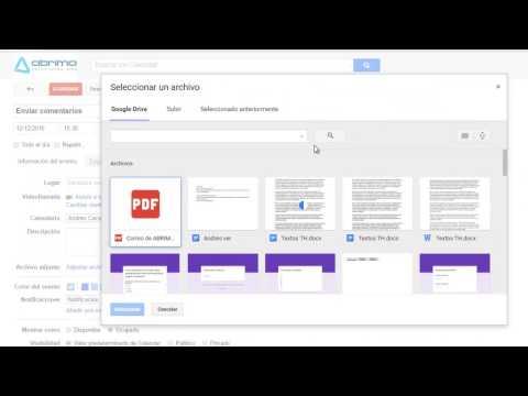 Cómo adjuntar un correo electrónico a tu evento en Google Calendar