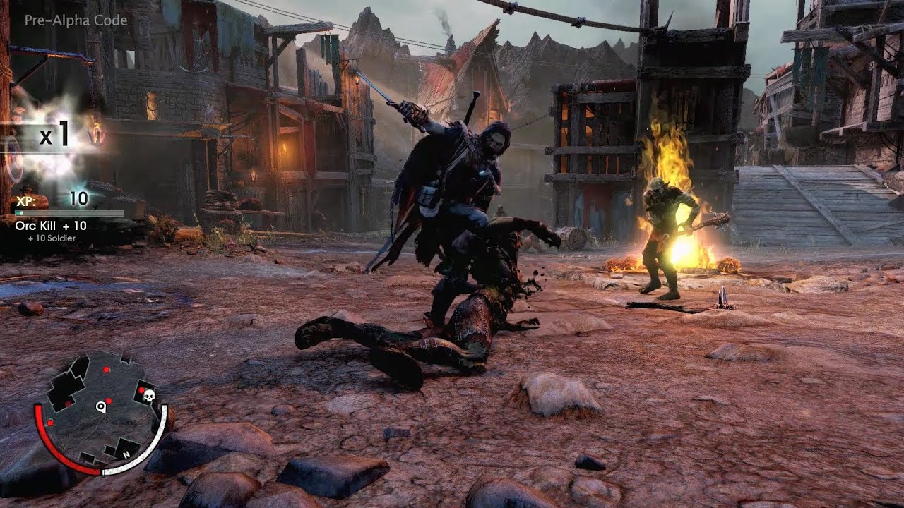 Shadow of Mordor Gameplay Trailer - First Gameplay