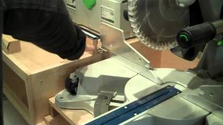 Ultimate Miter Saw Stand with Festool Kapex
