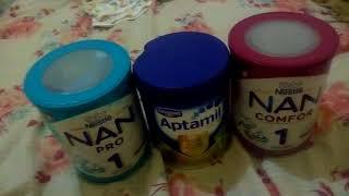 Qual a melhor formula? Nan nan 1 ,nan comfor , ou aptamil 1?