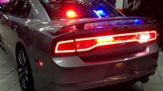 Lemans  Performance  Equipo profesional de patrulla federal , estrobos , pato con sirena y códigos