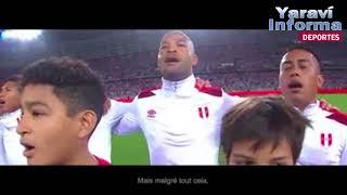 """Emotivo video de Perú a Francia: """"Estamos de regreso, nos vemos en la cancha"""""""