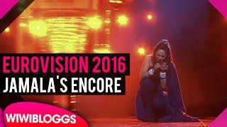 "Eurovision 2016: Ukraine's Jamala ""1944"" winner's encore @ Eurovision 2016 final"