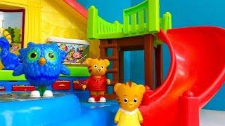 PRESCHOOL Playground Little People Set DANIEL TIGER TOYS! width=