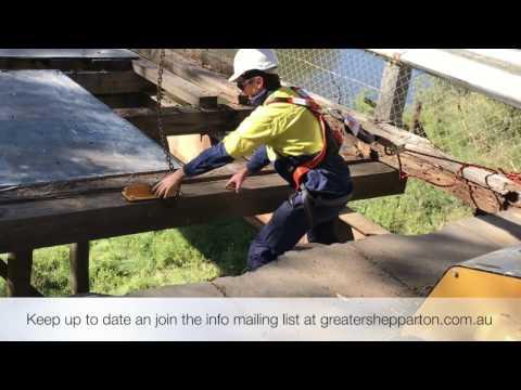 Toolamba Bridge temporary works started - Greater Shepparton