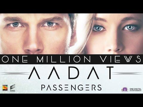 Aadat Lyrics - Passengers | Raftaar | Jubin Nautiyal | Shirley Setia