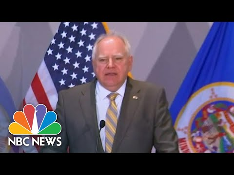 Minnesota Governor: Chauvin Guilty Verdict Is 'Important Step Towards Justice' | NBC News NOW