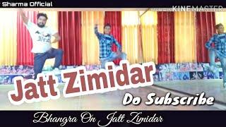 Bhangra On Song Jatt Zimidar || Dhol Mix || Gurnam Bhullar || VickyDhaliwal || Jass Records || D4U