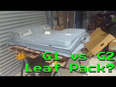 The Differences between G1 & G2  Nissan Leaf Batteries