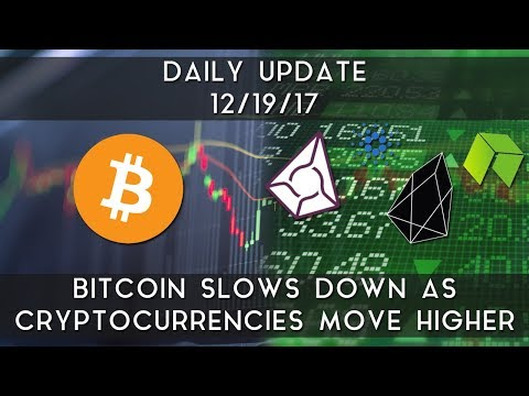 Daily Update (12/19/17) | Bitcoin slows down as others move higher