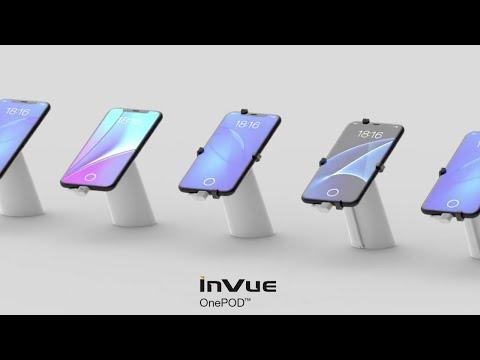 Varularmsplattform för surfplatta och smartphone - InVue OnePOD