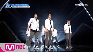 PRODUCE 101 season2 [4회] 'REAL 상남자' The 상남자ㅣ방탄소년단 ♬상남자_2조 @그룹배틀 170428 EP.4
