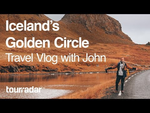 Iceland's Golden Circle: Travel Vlog with John