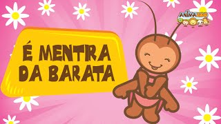 Canções Infantis - Animazoo - A Baratinha