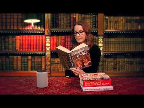 amazon.co.uk & Amazon Discount Codes video: Susie Dent teaches Alexa hundreds of alternative British regional words and phrases