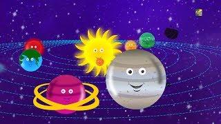 Canção do planeta   Aprender planetas   A Canção do Sistema Solar   Jelly Bears   Planet Song
