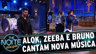"Exclusivo: Alok, Zeeba e Bruno cantam ""Never Let Me Go"" 