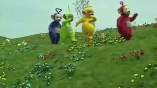 Teletubbies Dancing to Walk It Talk It
