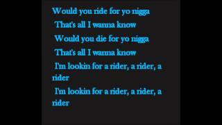 Future - Rider (With Lyrics)