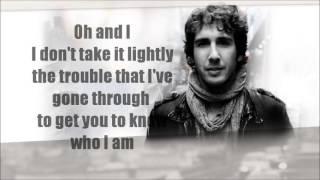 Happy In My Heartache LYRICS~ Josh Groban