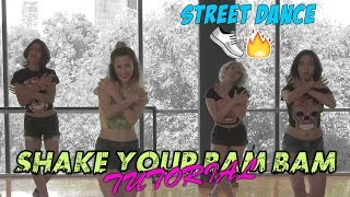 Tutorial Shake Your Bam Bam - RDX | Halide Manoath Choreography / Coreografía || Dance On Fire 👟🔥