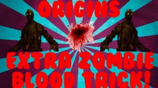 """Origins"" Zombie Blood Trick! Drops EVERY ROUND! Full Tutorial/Guide!"