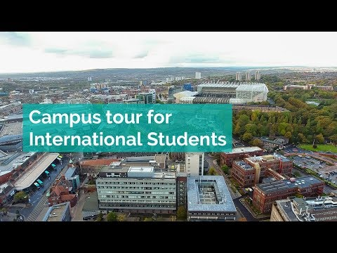 Newcastle university- Campus tour for International Students