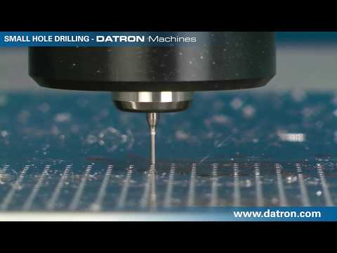 Small Hole Drilling with DATRON Machines