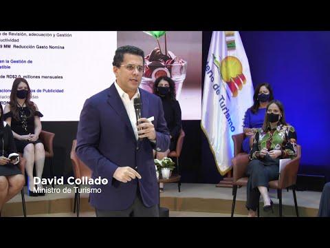 En 100 días, ministro Collado logra recuperación del turismo y el ahorro de RD$700 MM | @MTurismoRD