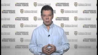 SALUDO DEL PRESIDENTE DE COLOMBIA POR NUESTROS 50 AÑOS