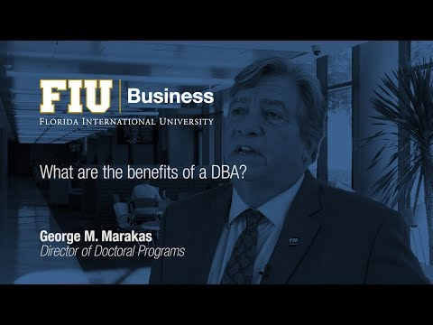 What are the benefits of a DBA?
