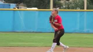 Tori Craley Class of 2018 (Shortstop, Second Base)  Softball Skills Video
